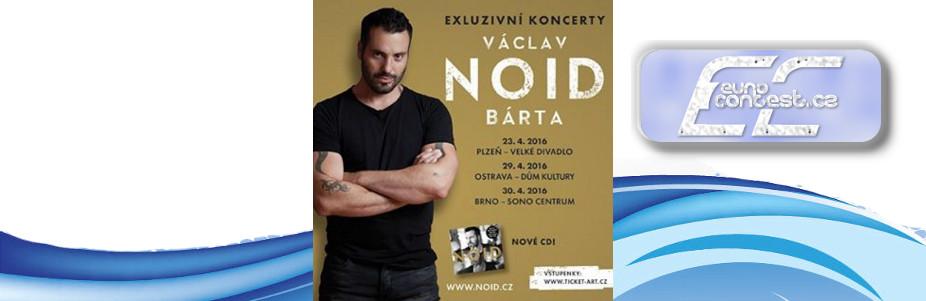 Václav Noid Bárta a jeho koncerty v roce 2016