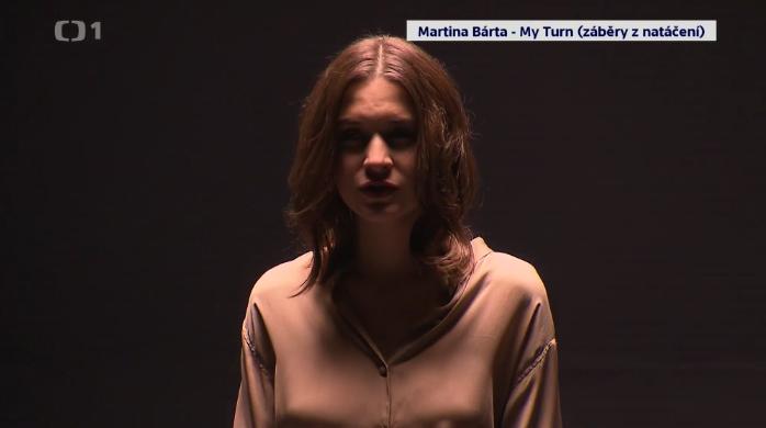 Martina Bárta natáčí klip k písni My Turn