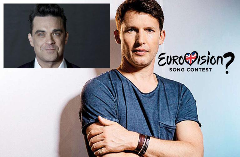 Velkou Británii by rád reprezentoval Robbie Williams, nebo James Blunt