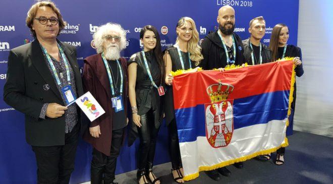 Srbsko dnes vysílá druhé semifinále