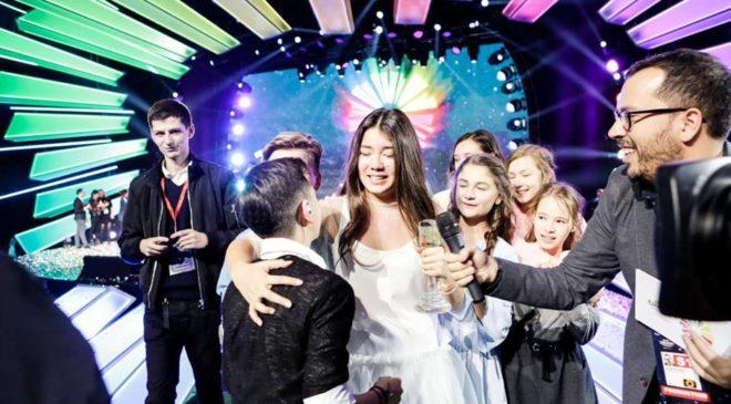 Dětskou Eurovizi vyhrála Roksana z Polska